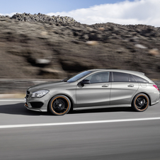 At launch, the CLA Shooting Brake will be offered with a range of two diesel and four gasoline engines