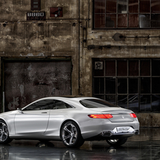 It is meant to preview the next S-Class coupe