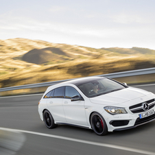 Mercedes also unveiled the AMG version of the new CLA Shooting Brake