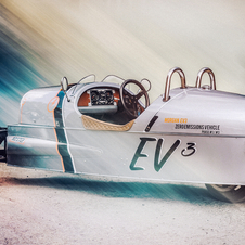 The EV3 is powered by a 102hp electric motor placed in the rear of the vehicle