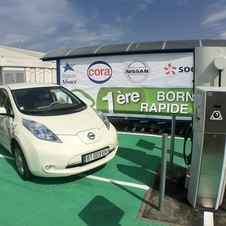 Nissan is giving various European 400 free Quick Chargers