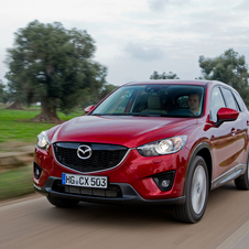 Mazda Updates CX-5 Interior, ECU and Transmission for 2013