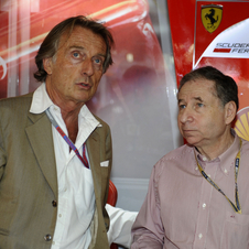 Todt previously ran the Ferrari F1 team