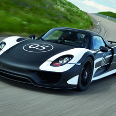 The 918 Spyder will be on sale in September