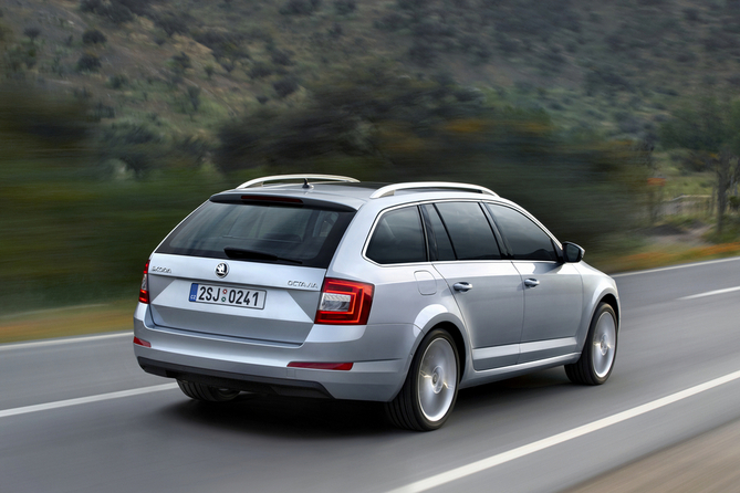 The new Octavia is longer, wider and lighter than previous generations