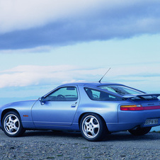 The most likely concept of the car is a modern interpretation of the 928