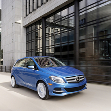 The B-Class will go on sale in early 2014