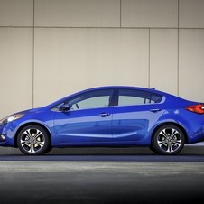 The new Forte is longer, lower and wider