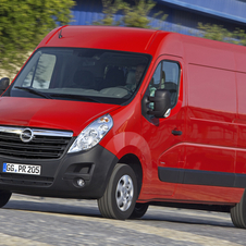 The Movano will have slightly better fuel economy from its start/stop engine