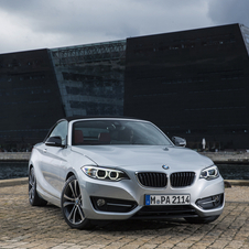 BMW 220i Convertible