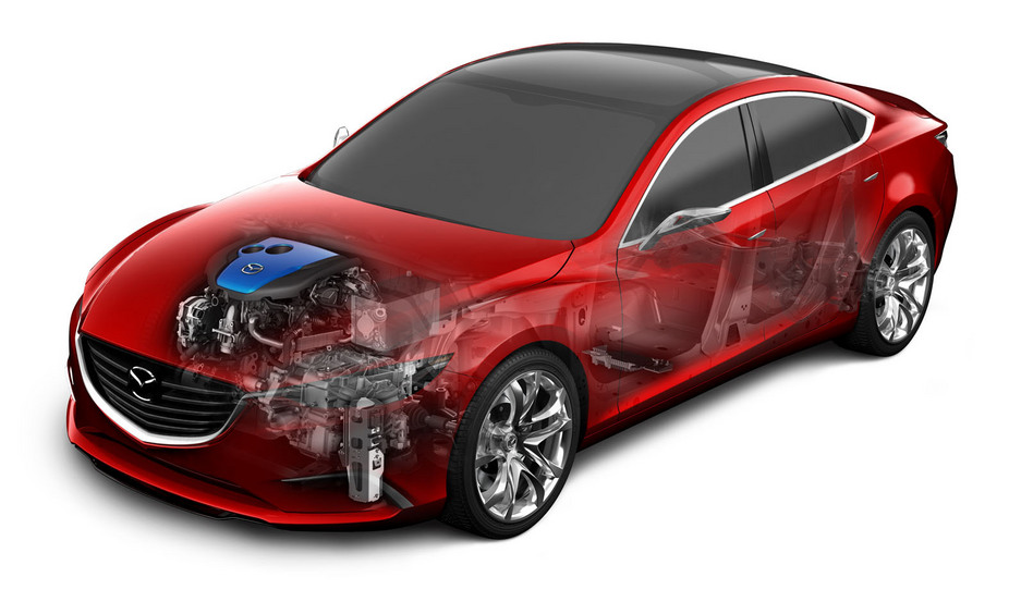 The next 6 will use Mazda's Skyactiv engines