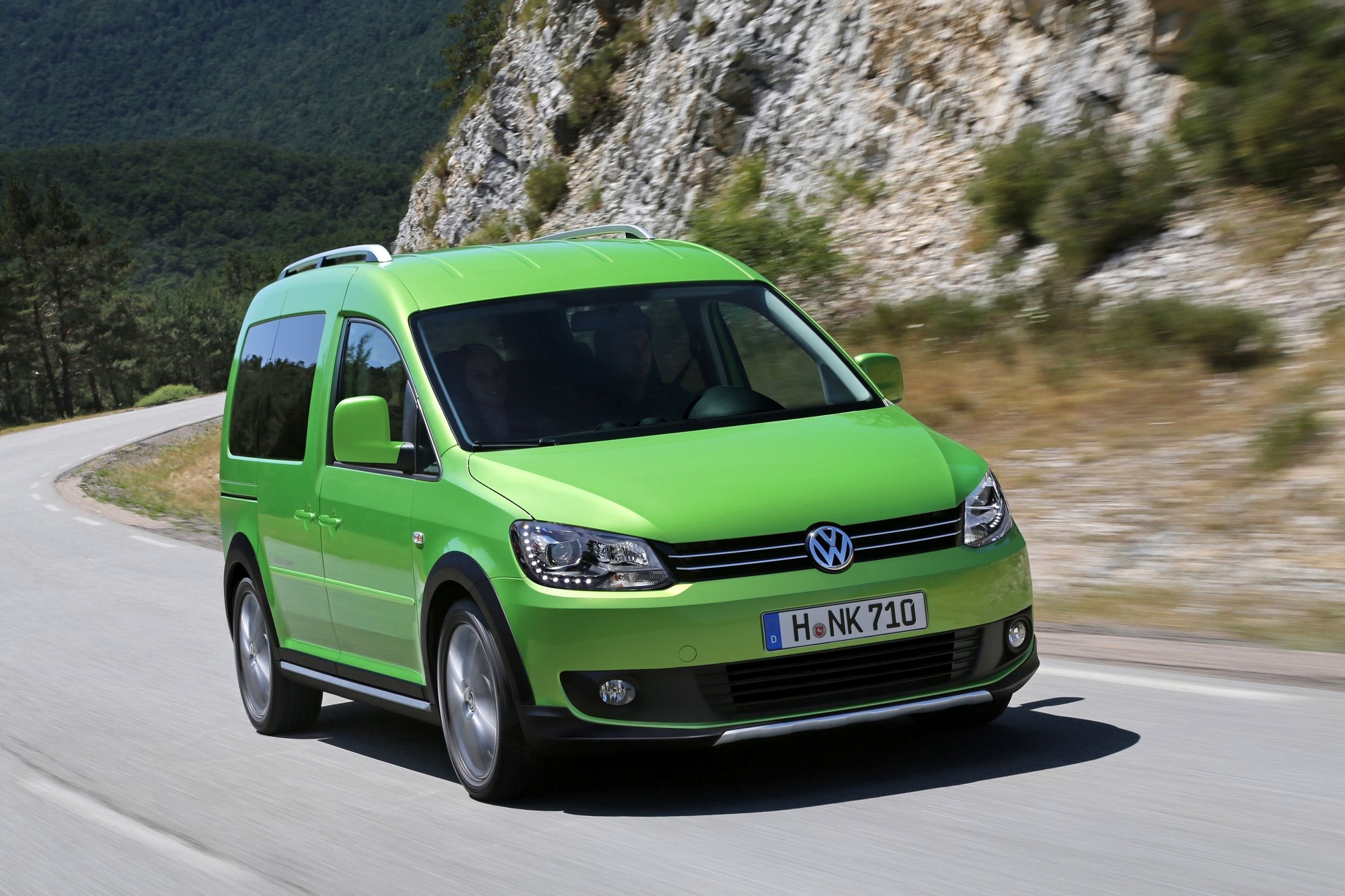 Vw Caddy Cross And Amarok Canyon Show Commitment To Off