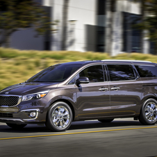The Sedona receives a larger, more prominent corporate front-end