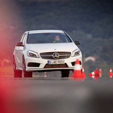 Mercedes has cars specifically made for driving instruction