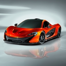 The P1 is meant to be McLaren's successor to the F1