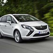 New low Co2 Zafira launched