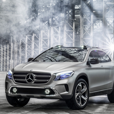 The production GLA will be revealed at the Frankfurt Motor Show