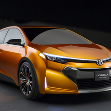 The Toyota Furia concept showed the future for the Corolla