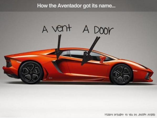 People A Vent A Door A New Lambo Photo Takio