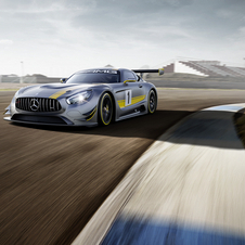 The engine powering the new racing car will be the same 6.3-liter V8 of the 2010 SLS AMG GT3 de 2010