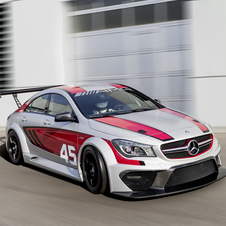 The CLA45 AMG Racing Series imagines a cheaper alternative to the SLS AMG GT3 for regional racing
