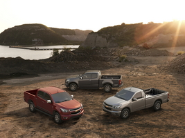 New Chevrolet Colorado makes Thailand debut
