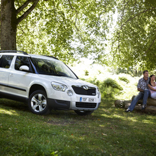 Skoda Yeti 1.6I TDI CR 105hp Greenline Active
