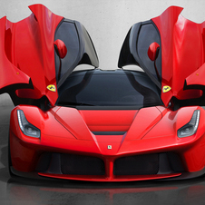 The doors appear inspired by the Enzo