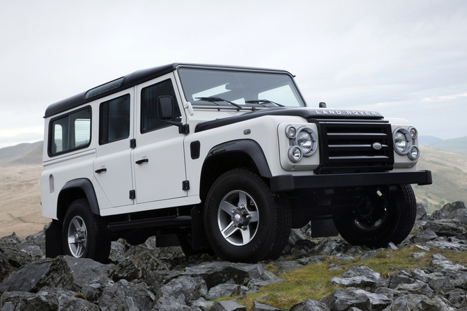 Land Rover Defender 110 Tdi Station Wagon. share. tell a friend