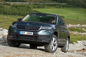Based on the Volkswagen's modular MQB platform the new Skoda Kodiaq is 4697mm long, 1882mm wide and 1676mm tall
