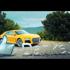 Audi is celebrating 100,000 fans on Facebook