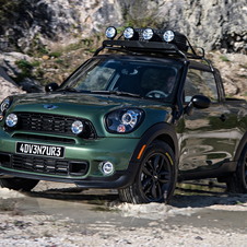 Basically they took the Paceman Cooper S and gave it a two-seat cockpit and the rear was replaced by a cargo area in the style of a pick-up