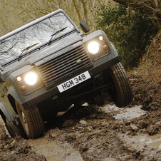 Land Rover Defender 90 2.5 TDi Hard Top
