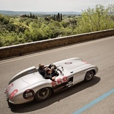 David Coulthard will drive the 300SLR in the historic rally