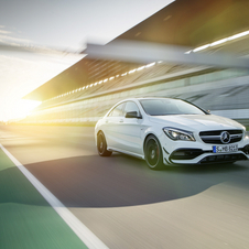 The CLA 45 AMG 4Matic keeps its' place at the top of the range with 381hp and 475Nm of torque