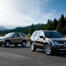 The new Grand Vitara has completely new exterior and interior design