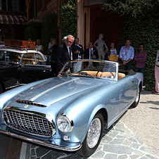 This 212 Inter Cabriolet was sold in 1952 by Chinetti Motors