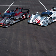 The Audi R18 E-Tron Quattro and R18 Ultra take to the track for the first time at Spa on May 7