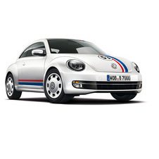 The car is meant to look like the Herbie from the films