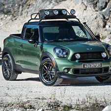 The MINI Paceman Adventure is a one-off vehicle and there is no intention for it to make it into production