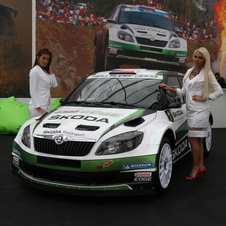 Skoda is also displaying the Fabia S2000