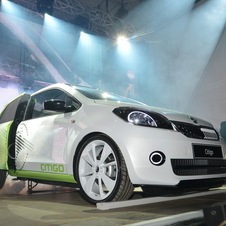 Skoda Citig DJ Car