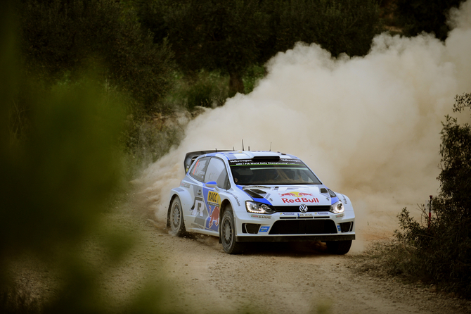 In Catalunya Ogier beat his team-mate Jari-Matti Latvala