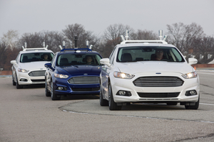 Ford has created an autonomous Fusion Hybrid for testing in Michigan