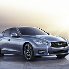 At launch in North America the Q50 will have just one engine