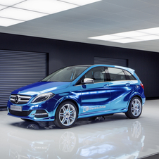 *Updated* Mercedes-Benz Concept B-Class Electric Drive comes to Paris
