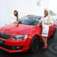 And there is the Octavia Combi with the sport package