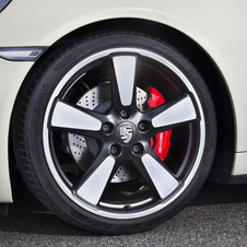 The 20in wheels are inspired by the classic Fuchs wheels