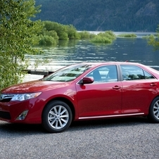 The Camry is the best selling imported car in Korea