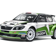 It competes in the WRC2 class this year
